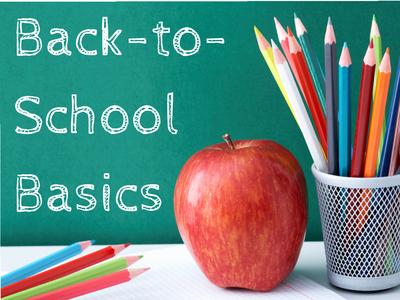 Back-to-School Basics
